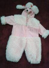Pink Poodle Dog  Toddler Costume  Ages 2T Dress Up   Halloween (G)