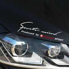 35CM Reflective Headlight Sports Mind Decal Vinyl Car Sticker for PEUGEOT Access