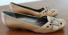 Hush Puppies Wedge Leather Low Heel (3/4 in. to 1 1/2 in.) Heels for Women