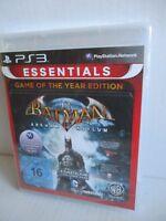 SONY PS3 Spiel Batman Arham Asylum Game of the Year Edition Essentials NEU OVP