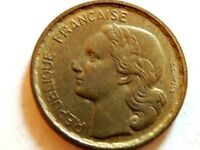 1951 French Ten (10) Francs Coin