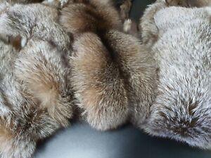 Real Crystal fox fur pelts, crystal fox fur skin