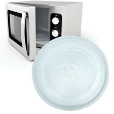 Clear Microwave Oven Cooking Glass Turntable Plate Tray Replacement Round 245mm