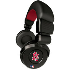 iHip Official MLB Noise Isolation Pro DJ Headphones - ST LOUIS CARDINALS