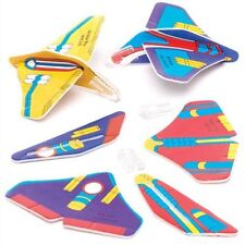 Pack of 12 - Mini Spaceship Gliders - Galaxy Space Party Loot Bag Fillers