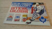 1995-96 Toronto Maple Leafs Team-Issued Calendar -  NHL - Doug Gilmour - NR-MT