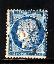 FRANCE N° 60 GC 1718 LES GRES-sous-TROYES, cachet net,BEAU. Indice 11, RARE.