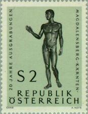 AUSTRIA -1968- 20 years Magdalensberg Excavations (Carinthia) - Bronze Sculpture