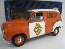 """Renault Colorale """" RENAULT """"  1953 in weiß / orange  Solido  Maßstab 1:18  OVP"""
