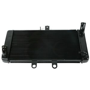 Black Radiator Cooler Fit For SUZUKI BANDIT GSF1250S GSF1250 07-13 GSX650F 08-13