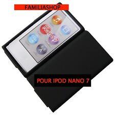 Housse etui coque silicone noir noire pour iPod Nano 7 7G