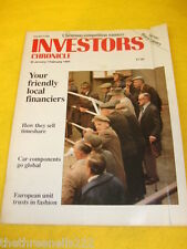 INVESTORS CHRONICLE - HOW THEY SELL TIMESHARE - JAN 26 1990