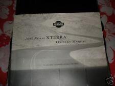 2000 Nissan Xterra Owners Manual Warranty  Maintenance