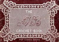 Over 100 Designs in Irish, Filet & Venetian Crochet, AWB Pattern Book No.1 on CD