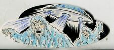 Mars Attacks The Revenge Shaped Sketch Card By B Nygma