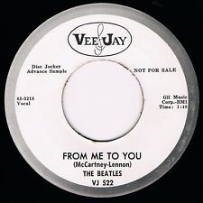 "THE BEATLES ""FROM ME TO YOU / THANK YOU GIRL"" VEE-JAY 522 DJ PROMOTIONAL! NM!!!"