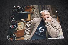 Alex de la Iglesia Signed Autograph on 20x25 cm Photo InPerson LOOK