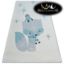 Moderne Enfants Pièce Tapis Crème Fox 'Pastel' Épais Pas Cher Best-Carpets