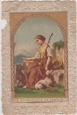 CANIVET ANCIEN IMAGE PIEUSE /STE GENEVIEVE DE PARIS-BREBIS-CHIEN - 1885