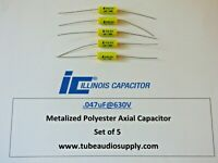 XICON .047uf @630Vcapacitors set//10 polypropylene film RADIAL lead capacitor