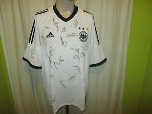 """Germany """" DFB """" adidas World Championship Jersey 2002+ Autographed Size XL Top"""