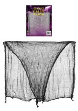 SPOOKY CREEPY CLOTH HALLOWEEN NET TABLE DOOR WINDOW FANCY DRESS PARTY DECORATION