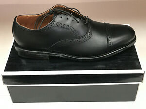 NEW FootJoy 1857 Men's Dress Shoes - Italian Leather - Black 10.5C Were $595