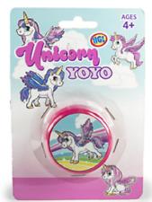 UNICORN YOYO - SV14639 PINK FUN MAGIC TRICKS TALENT RETRO STYLE PARTY