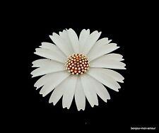 Designer TRIFARI Brosche, große Blüte, Leichtmetall, Spilla,Broche,Flower Brooch
