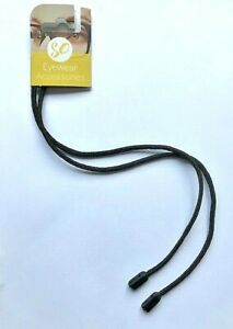 Gorilla Grip Secure Spectacle/Glasses Cord Holder / Spec.Lanyard - Black. New