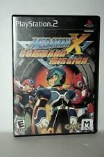 MEGAMAN X COMMAND MISSION GIOCO USATO SONY PS2 EDIZIONE AMERICANA FR1 43105