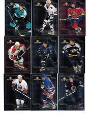 1999-00 UD MVP Draft Report Card Insert Card Set 1-10