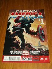 CAPTAIN AMERICA #1 (2013) MARVEL COMICS