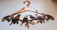 Birds on a Hanger Metal Wall Art Decor/Laundry Room Decor/Room Decor