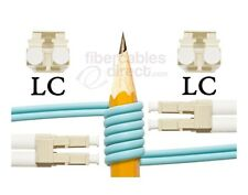 OM4 LC-LC Bend Insensitive 50/125 Multimode DX Fiber Cable - [ 115 Meter ]