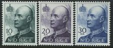 Norway high values 10 to 50 kroner unmounted mint Nh