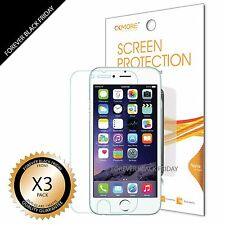 "3x iPhone 6S 4.7"" Screen Protector Anti-Glare Matte Cover Guard Saver"