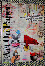 ART on PAPER Magazine, Jane Hammond, Giuseppe Ugonia, Richard Pousette-Dart