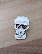Karl Lagerfeld Pin Brosche Anstecknadel Neu