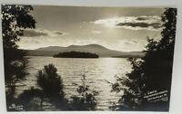 Postcard Real Photo Lake Memphremagog Newport, VT Richardson 1944