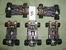 TYCO 440X2 NARROW INDY F-1 CORVETTE 5 CHASSIS LOT B BSRT