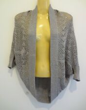 Stunning stretchy drape cotton wool cardi by high-end brand JEANSWEST s12 AS NEW