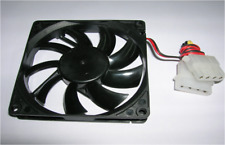Dual 4pin IDE 8015 8cm 80x15mm CPU Heat-sink Cooler 12v Brushless Cooling Fan