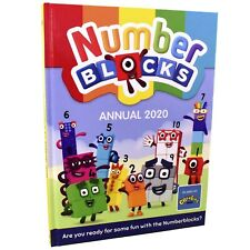 Numberblocks Annual 2020 Hardback NEW Book By Sweet Cherry Publishing