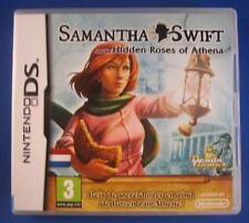 ★☆☆ DS game - Samantha Swift and the Hidden Roses of Athena ☆☆★