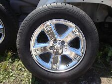 2007-11,Dodge,Nitro,Jeep,Liberty,17,7,Chrome Clad,Factory,OEM,Wheels,Tires,Nice