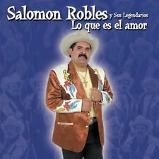 New: Robles, Salomon: Que Es El Amor  Audio CD