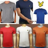 LYLE AND SCOTT SHORT SLEEVE CREW NECK T-SHIRT  (SUMMER SALE)