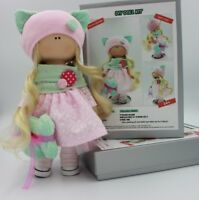 DIY Doll Sewing Kit Make Your Own Interior Doll Tilda Pattern Kitty