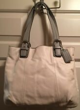 AUTHENTIC COACH, Large SOHO Off-White Leather Satchel, NEW with TAGS (17-193)
